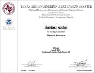 [2015] FEMA and Texas - Network Assurance
