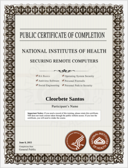 [2015] NIH - Securing Remote Computers