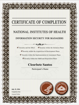 [2016] HHS Information Security for Managers