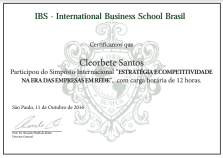 [2016] IBS - Brazil Management Week