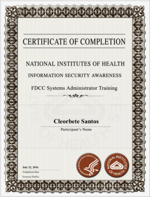 [2016] NIH Information Security Awareness Training