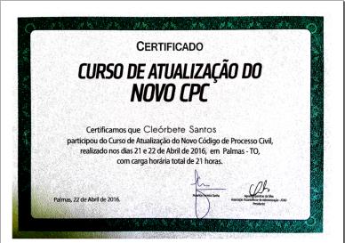 [2016] Novo CPC - Mauricio Cunha