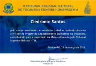 [2016] Cadastramento biometrico - TRE-TO