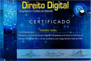 [2016] Direito Digital e Compliance