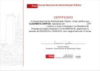 [2018] LGPD lei geral protecao de dados ITS ENAP cleorbete