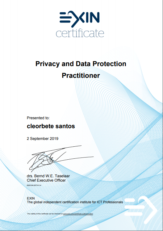 cleorbete-exin-pdpp-practitioner-data-protection-privacy