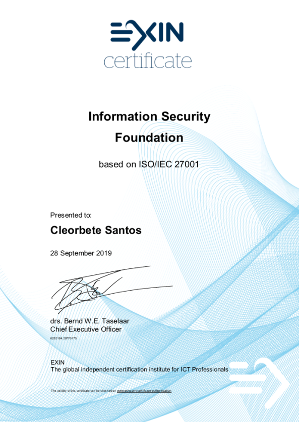 cleorbete-exin-information-security-foundation-27001