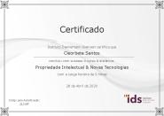 [2020] Propriedade Intelectual e Novas Tecnologias - IDS