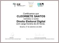 cleorbete-direito-eleitoral-digital-escola-judiciaria-eleitoral