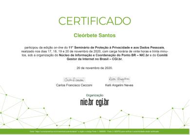 certificado-cleorbete-protecao-dados-nic-br