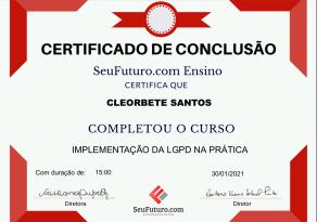 certificado-cleorbete-lgpd-seu-futuro