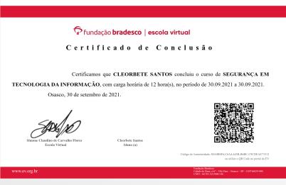 cleorbete-certificado-bradesco-seguranca-da-informacao